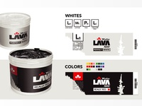 Lava Ink Product Packaging