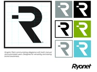 Ryonet Corporate Branding - Logomark & Typography