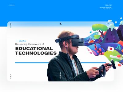 Edulabz website presentation illustration web websites website