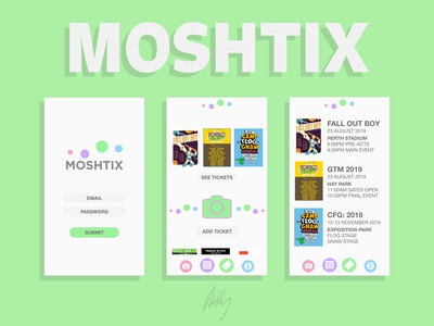 Moshtix Application [Redesign].