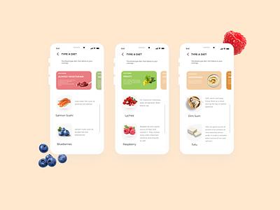 Snack App machinelearning ui ux design app