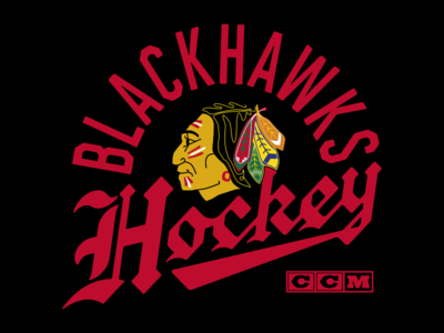 Blackhawks Blackletter
