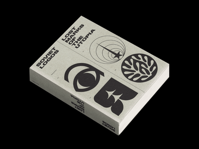 Soviet Logos: Lost Marks of The Utopia marks logomarks logo logos editorial book cover print book