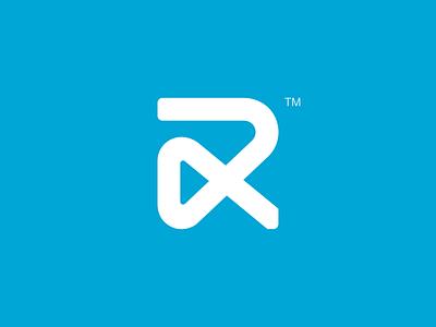 R branding typo logo r symbol brandmark logotype logomark