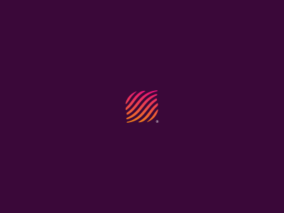Seo Mark seo globe world planet orange red gradient circle strokes stripe logo logotype mark info keyword