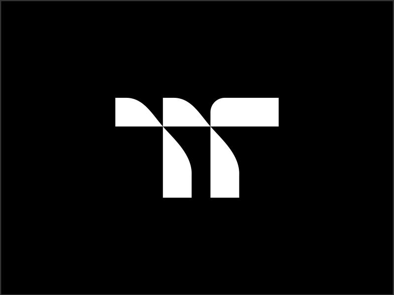 Terratrans monogram mark brandmark branding trademark symbol logomark logotype logo