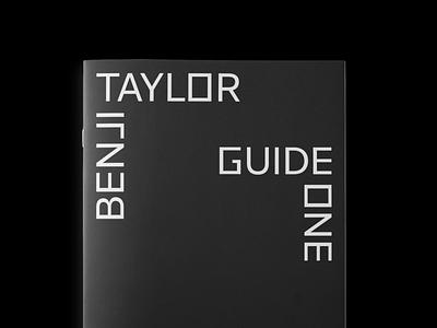 Benji Taylor - Visual Identity logotype customfont typeface typography identity brand logodesign branding logo
