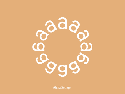 Aluna George aluna george artist branding music branding music singer brand typo custom design type identity typography mark brandmark symbol branding logomark logotype logo