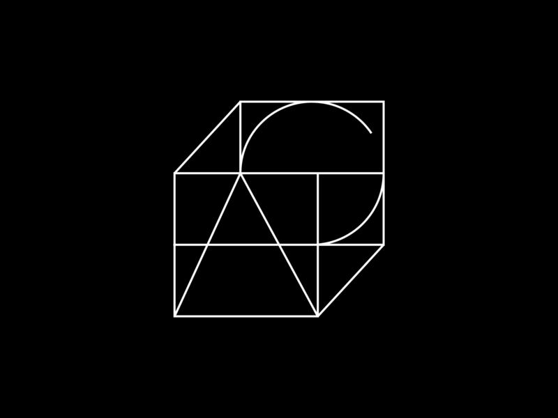 Ag monogram monogram symbol lettering identity brandmark mark logomark branding logotype logo