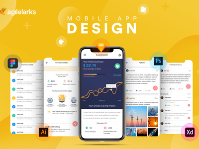 Mobile app design for Clients freelance design fiverr app design ux  ui mobile app design app design ui  ux design ui desgin ux design ux ui web  design web design and development app branding app design agency typography mockup design branding agilelarks