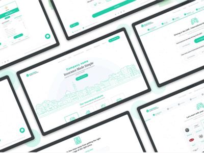 Web app design for Clients
