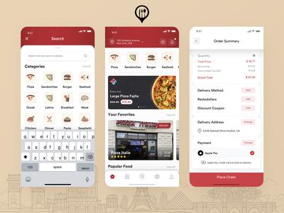 Restozone Mobile App Redesign