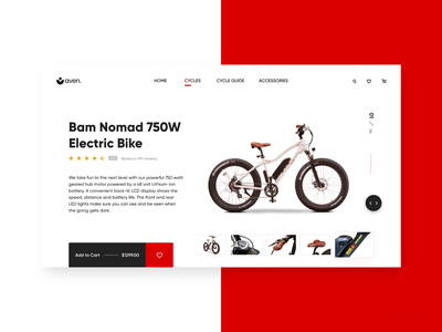 Buy Your Bike Online interactive user interface interactive design bike website bike bicycle shop bicycle user interface design web design design ui design adobexd website design conceptual website concept uidesign uiux adobe xd