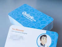 Quizzle business cards