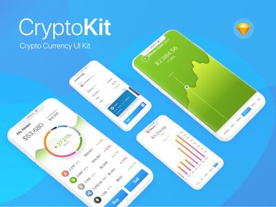 CryptoKit - Cryptocurrency UI Kit