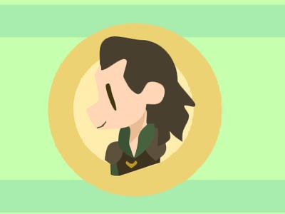 Loki Headshot rip loki marvel endgame design vector scratch logo illustration icon