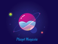 Colored Planet