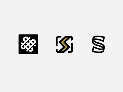SS Monogram ss monogram logo s s logo weave ss logo square popular branding letter
