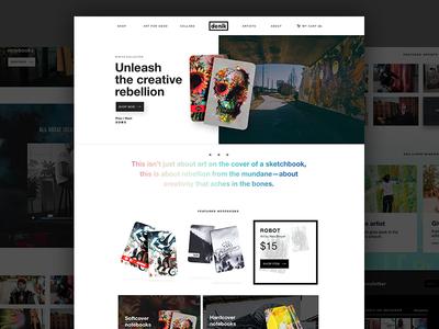 Denik Website
