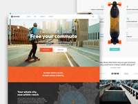 Boosted Homepage