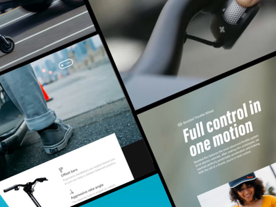 Boosted Rev Launch Campaign ecommerce launch campaign homepage ux ui web design