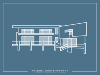 Contemporary Home Illustration