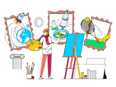 Painter - explainer video