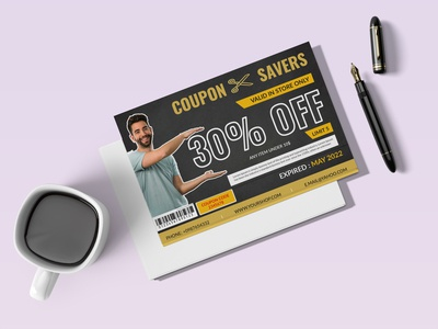 coupon card design