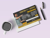 coupon card design