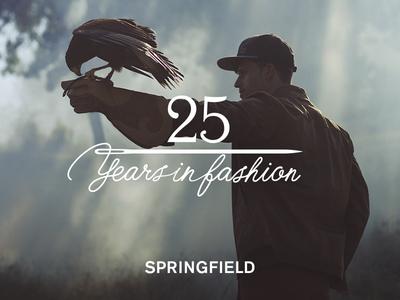 SPRINGFIELD 25th anniversary