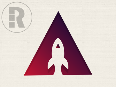Day 1 of the Daily Logo Challenge - Rocket