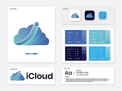 iCloud modern logo design creative graphic logotype marketing illustration logodesigns brand logos designer graphicdesigner art logodesign logodesigner branding graphicdesign design cloud i monogram letter i logo