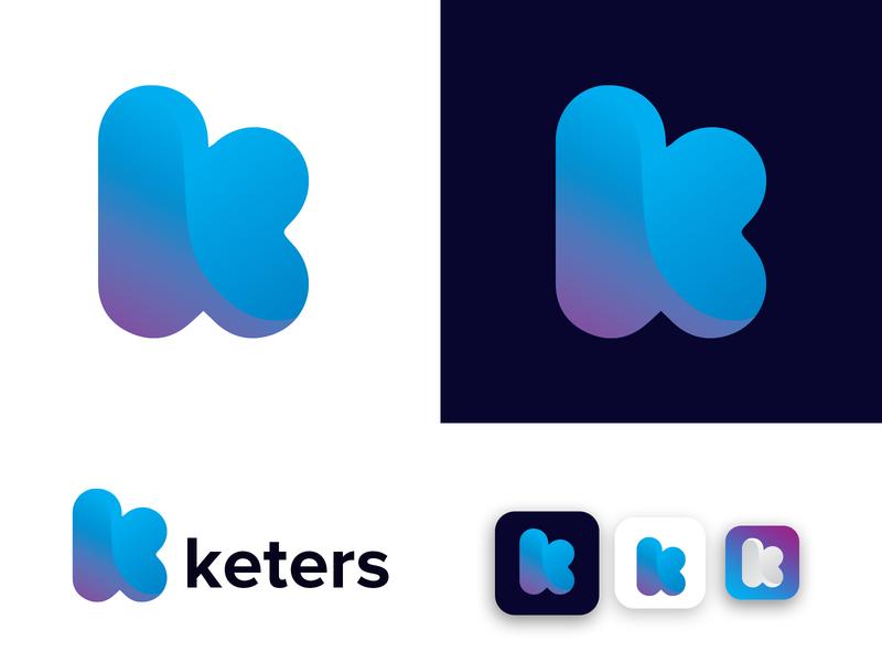 keters k letter logo design logo designs logo designer logo design logo branding k modern logo k logo design k logo k letter logo gradient creative technology corporate branding brand identity design logo modern app minimalist abastract