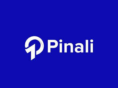 Pinali  logo design gradient logo brandmark construction e-commerce logodesigner corporate p letter logo p letter p logos technology modern appicon app modernlogo minimalist minimal logo design logo