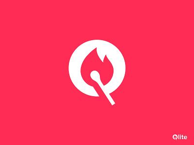 Qlite minimal creative logo design gradient logo brandmark construction e-commerce logodesigner corporate q letter logo q letter q logos technology modern appicon app modernlogo minimalist minimal logo design logo