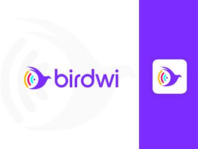 birdwi logo design elegant logomaker gradient logo brandmark construction e-commerce isometric logodesigner corporate logos technology appicon app modernlogo minimalist minimal logo design modern logo creative