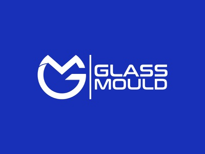 GLASS  MOULD LOGO DESIGN brandmark construction e-commerce isometric logodesigner corporate gm letter logo gm letter gm logos technology appicon app modernlogo minimalist minimal logo design