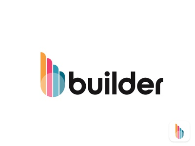 bulider construction b letter logo design gradient logo building logodesigner corporate b letter logo b letter b real estate property home construction appicon app modern logo minimalist brand identity brand logo mark logo design logo