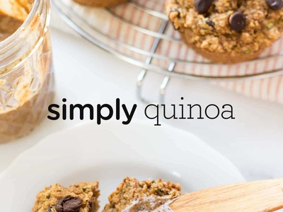 Simply Quinoa identity website design logo branding