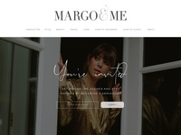 Subscribe page for Margo & Me