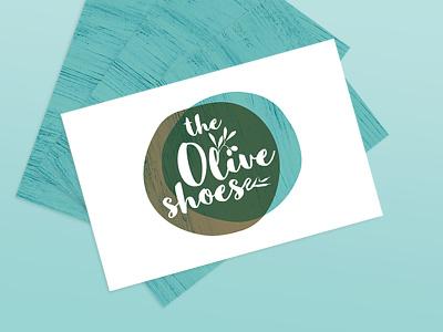the Olive Shoes design graphic design branding logo illustration identity