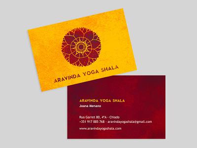Aravinda Yoga Shala design illustration logo identity graphic design branding