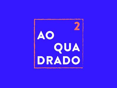 Ao Quadrado icon branding logo design graphic design