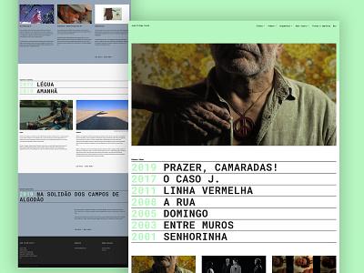 Film Director José Filipe Costa Website ui design web design wordpress wordpress website