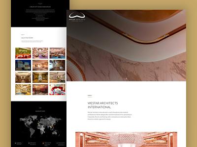 Westar International Architects Website architecture webdesign wordpress