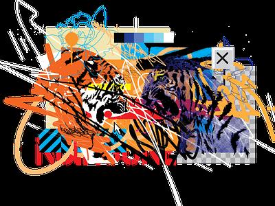 The Battle Within digital art illustration