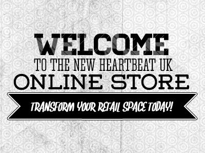 eCommerce Banner typography banner web design welcome