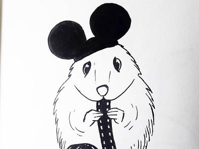 6. Rodent for Inktober 2020 daily inktober2020 inktober branding charachter design design motion illustration xav