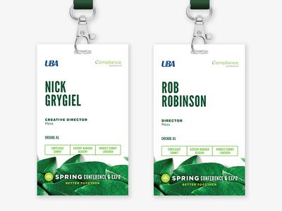 UBA Spring Conference - Name Tags