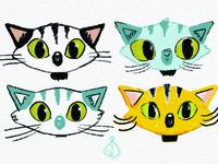 Kitten Character Design Ideas - Kitten on the Loose